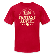 T-Shirts ~ Men's T-Shirt by American Apparel ~ Free Fantasy Football Advice