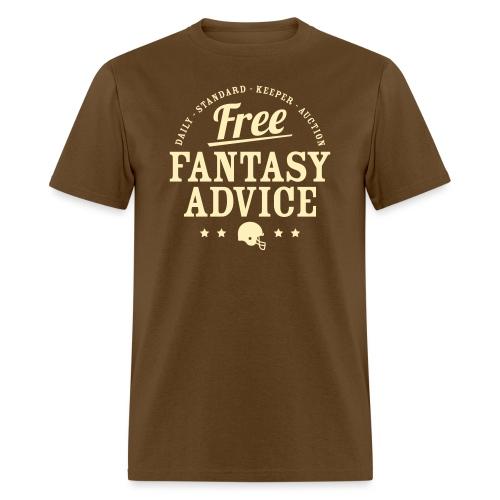 Free Fantasy Football Advice - Men's T-Shirt