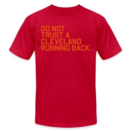 Do Not Trust a Cleveland Running Back. (Fantasy Football) - Men's  Jersey T-Shirt