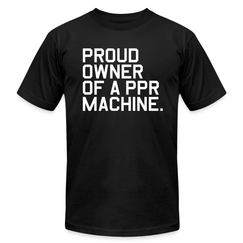 Proud Owner of a PPR Machine. (Fantasy Football) - Men's T-Shirt by American Apparel