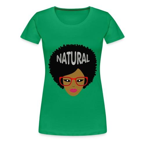Respect the Fro - Women's Premium T-Shirt