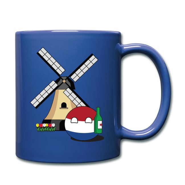 NetherlandsBall I - Colored Mug