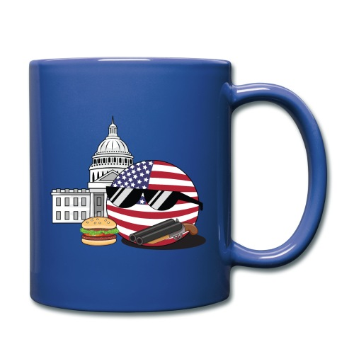 USABall I - Colored Mug - Full Color Mug