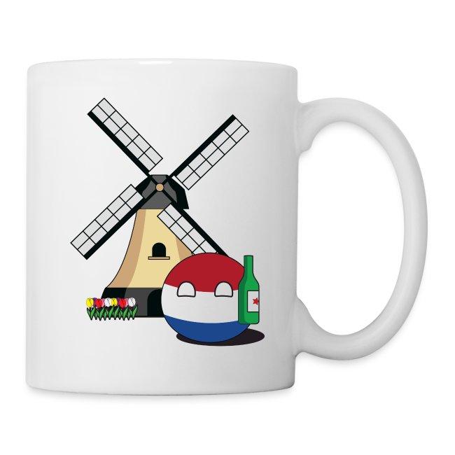 NetherlandsBall I - White Mug
