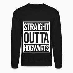 STRAIGHT OUTTA HOGWARTS Long Sleeve Shirts