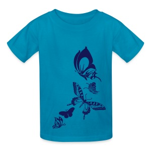 Butterfly Kids' T-Shirt From South Seas Tees - Kids' T-Shirt