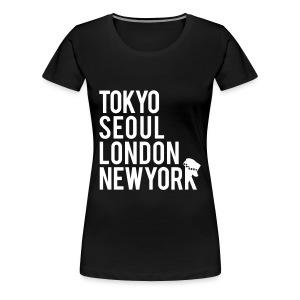 Girls' Generation - Mr. Taxi (White Flex Print) [Women's Shirt] - Women's Premium T-Shirt