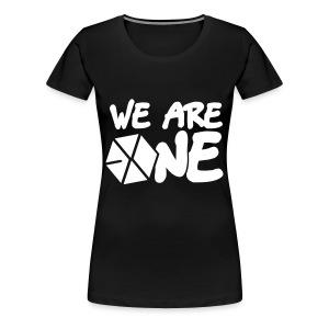 EXO - We are One! (White Flex Print) [Tote] - Women's Premium T-Shirt