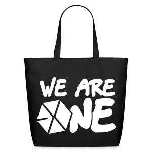 EXO - We are One! (White Flex Print) [Cotton Tote] - Eco-Friendly Cotton Tote