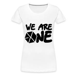 EXO - We are One! (Black Flex Print) [Men's Shirt] - Women's Premium T-Shirt