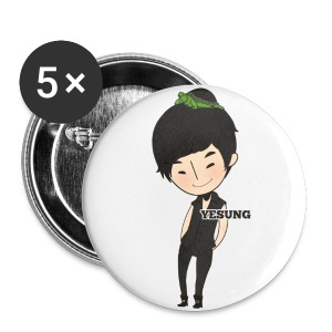 Super Junior - Chibi Yehsung [1 button] - Small Buttons