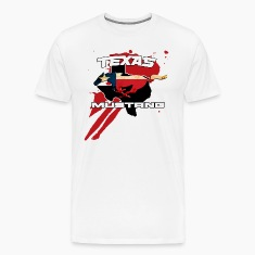Texan Mustang T-shirt