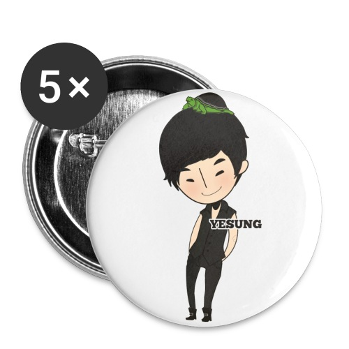 Super Junior - Chibi Yehsung [2 1/4 button] - Large Buttons