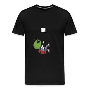 Wiretshirt Alien - Men's Premium T-Shirt