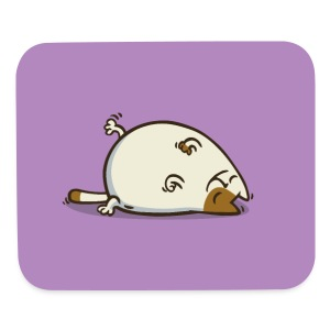 Friday Cat №18 - Mouse pad Horizontal