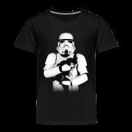 Baby & Toddler Shirts ~ Toddler Premium T-Shirt ~ Stormtrooper Cat - Toddler