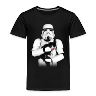Baby & Toddler Shirts ~ Toddler Premium T-Shirt ~ Stormtrooper Cat - Toddler