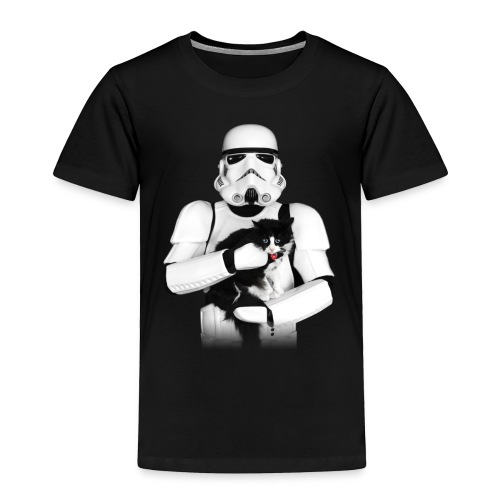 Stormtrooper Cat - Toddler - Toddler Premium T-Shirt