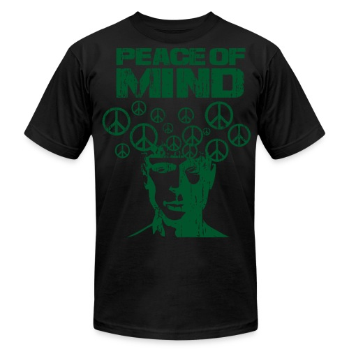 PEACE of MIND - Men's Fine Jersey T-Shirt