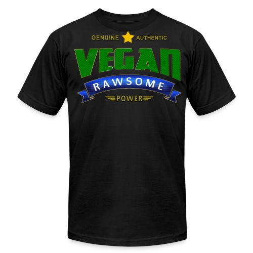 Vegan RAWsome Power - Men's Fine Jersey T-Shirt