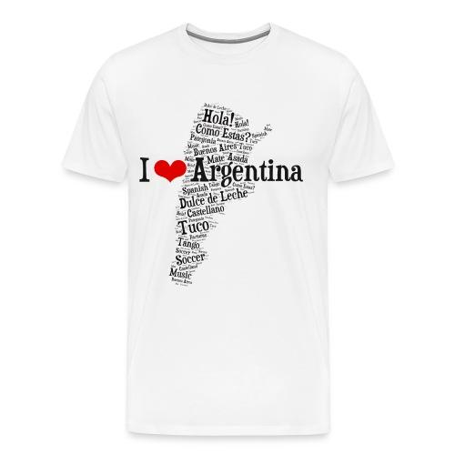 I love Argentina! - Men's Premium T-Shirt