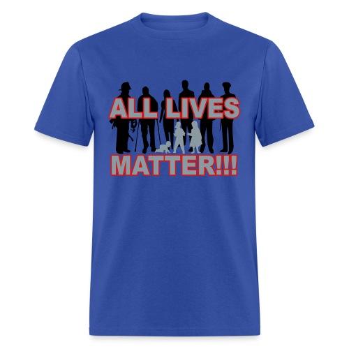 ALL Lives Matter RGB - Men's T-Shirt