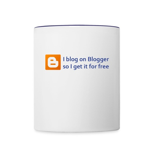 Blogger on Blogger Coffee Cup - Contrast Coffee Mug