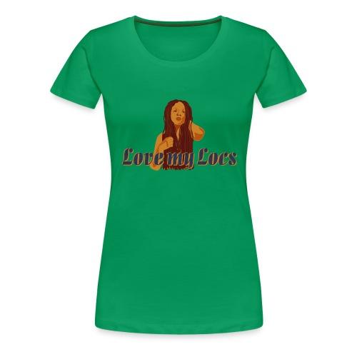 Love My Locs plus tee - Women's Premium T-Shirt