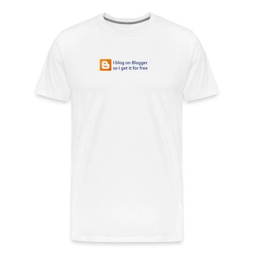 Blogger on Blogger Men's Premium Tee - Men's Premium T-Shirt