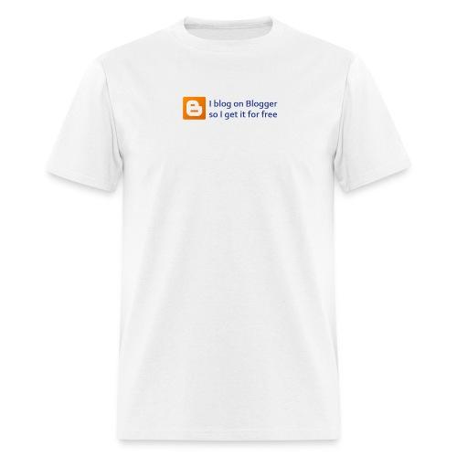 Blogger on Blogger Men's Budget Tee - Men's T-Shirt