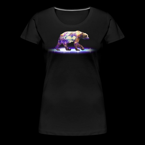 Grizzly Bear Womans Shirt - Women's Premium T-Shirt