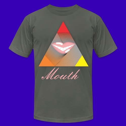 Mouth Co. All Giving Mouth Tee by American Apparel - Men's  Jersey T-Shirt