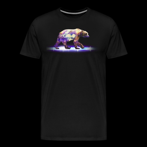 Grizzly Bear Mens Shirt - Men's Premium T-Shirt