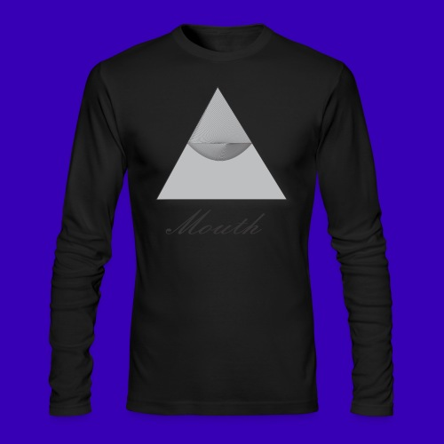 Mouth Co. Standing Pyramid long sleeve tee  - Men's Long Sleeve T-Shirt by Next Level