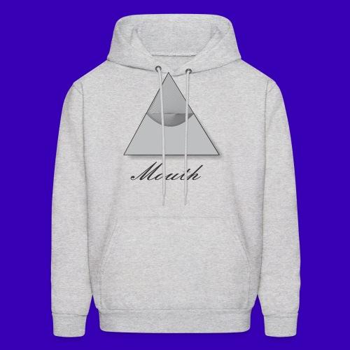 Mouth Co. Standing Pyramid hoodie (grey) - Men's Hoodie