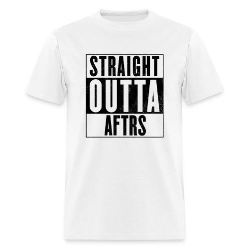 Straight Outta AFTRS White - Men's T-Shirt