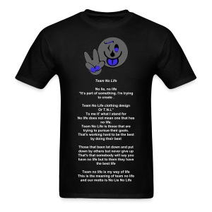 Team No Life Meaning - Men's T-Shirt
