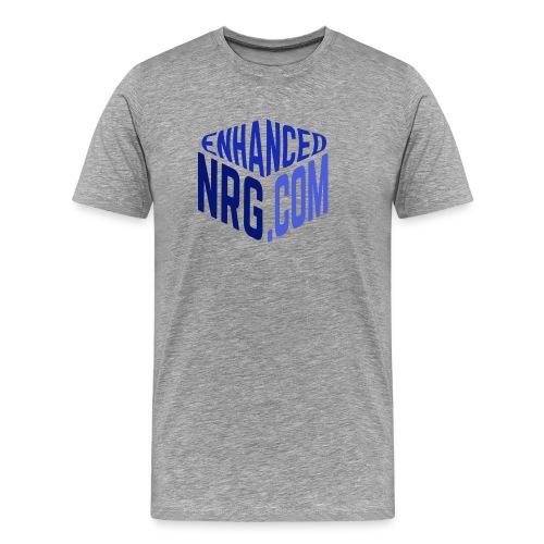 EnhancedNRG Men's Premium Fitted Logo Tee - Men's Premium T-Shirt