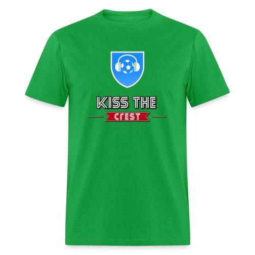 Kiss the Crest t-shirt - Men's T-Shirt