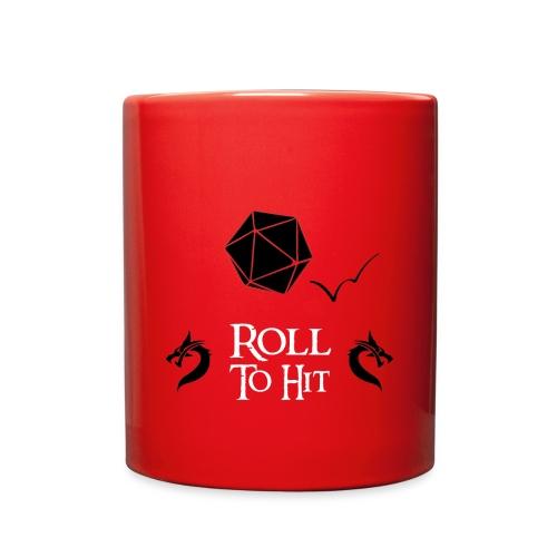 Roll to Hit Coffee Mug - Full Color Mug