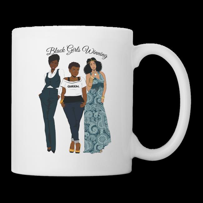 Black Girls Are Winning Mug