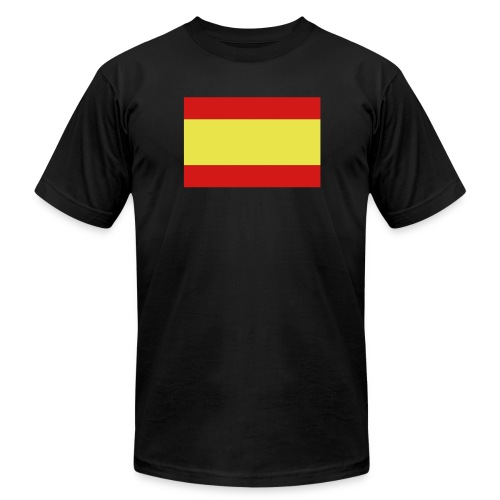 Spanish Flag - Men's Fine Jersey T-Shirt