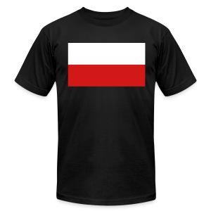 Polish Flag - Men's Fine Jersey T-Shirt