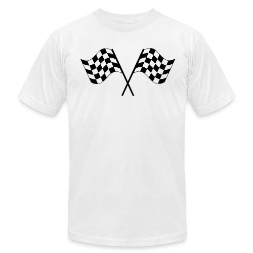 Checkered Flags - Men's  Jersey T-Shirt