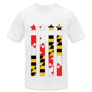 Maryland Flag - Men's Fine Jersey T-Shirt