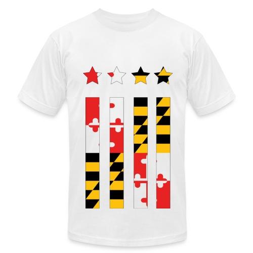 Maryland Flag - Men's  Jersey T-Shirt