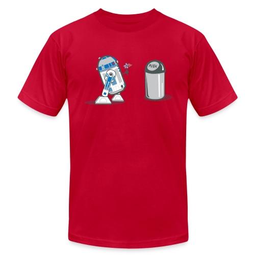 robot_crush_spreadshirt - Men's  Jersey T-Shirt