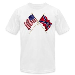 american civil war flags - Men's Fine Jersey T-Shirt