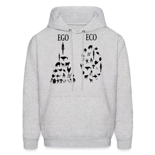 animal rights ego vs eco - Men's Hoodie