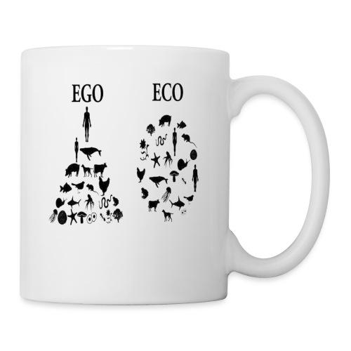 animal rights ego vs eco - Coffee/Tea Mug